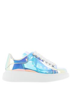 Oversize iridescent sneakers