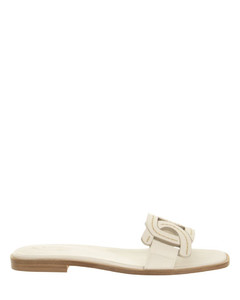 Tournament high-top canvas trainers
