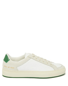 Achilles Retro suede and leather trainers