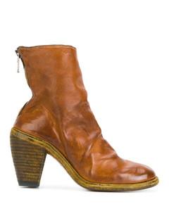 拉链及踝靴