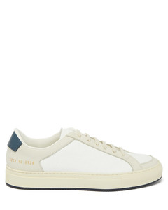Retro Low suede and leather trainers