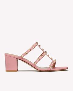 蛇纹高跟靴