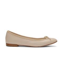 驼色Cendrillon芭蕾平底鞋
