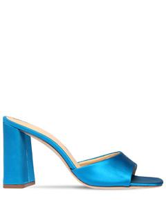 90mm Juju Satin Mule Sandals