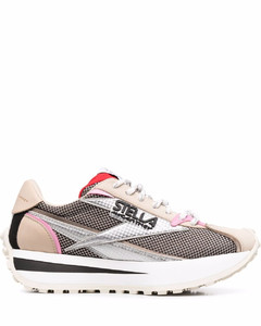 Black patent leather Cassandra flat sandals