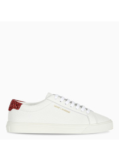 Red glittered heel Andy sneakers