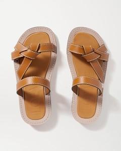 Gate皮革拖鞋
