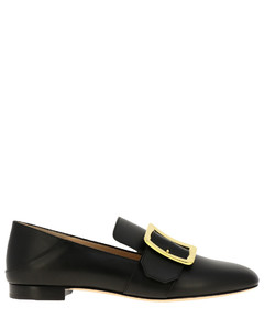 Janelle loafer in leather with buckle