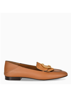 Brown ChloéC loafers