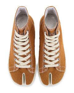 TABI帆布运动鞋