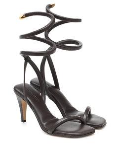 BV Spiral皮革凉鞋