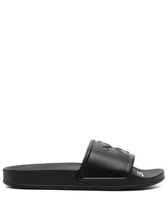 80 white leather sandals