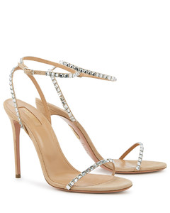 Very Vera 105 camel suede sandals