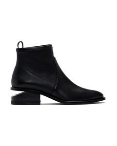黑色Kori踝靴