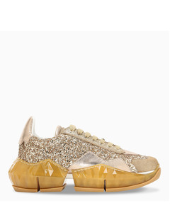 Gold glitter Diamond sneakers