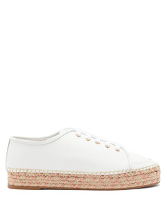 Tulla leather espadrille trainers