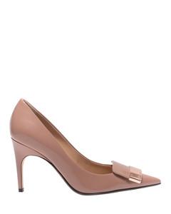 Sr1 pink leather pumps