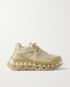 Bump Air人造皮革网眼氯丁橡胶运动鞋
