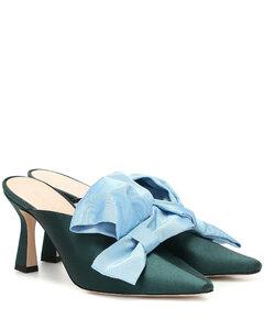 Lotte缎布穆勒鞋