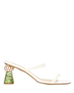 Vallena mules with heels