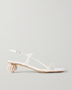 Manosque皮革凉鞋