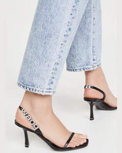 85mm Ivy露跟凉鞋