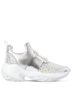 """【黄圣依同款】75毫米""""viv Run""""金属质感运动鞋"""