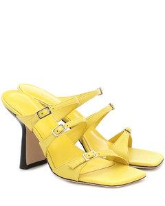 Mytheresa发售 —Malene皮革凉鞋
