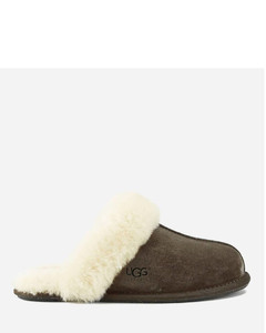 Women's Scuffette II Sheepskin Slippers - Espresso