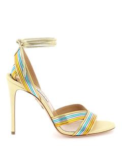 BV Bold leather platform mules