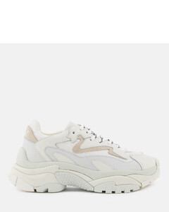 Women's Addict Chunky Runner Style Trainers - White/Off White