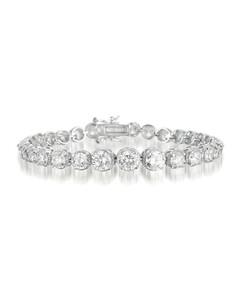 F is Fendi oversized cat-eye metal sunglasses