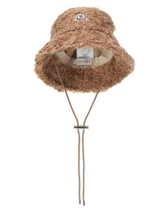 人造羊毛皮渔夫帽