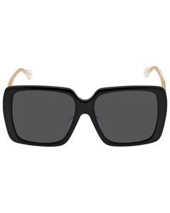 acetate glasses with FF of rhinestones