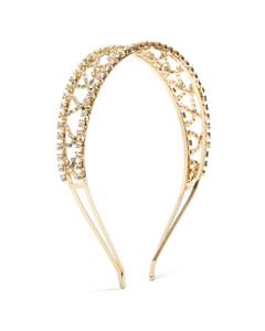 Oasis crystal-embellished headband