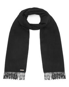 Hortons100%羊绒围巾-黑色