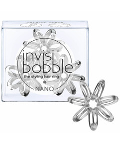 Nano Hair Tie (3 Pack) - Crystal Clear