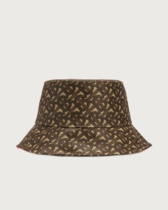 Monogram Print Bucket Hat