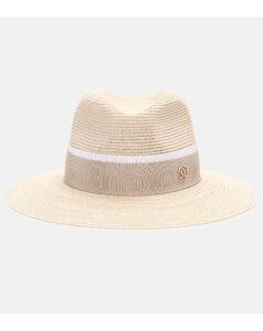 Henrietta草编绅士帽