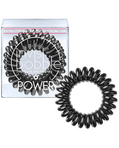 Power Hair Tie (3 Pack) - True Black