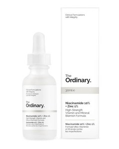 Niacinamide 10% + Zinc 1% High Strength Vitamin and Mineral Blemish Formula 30ml