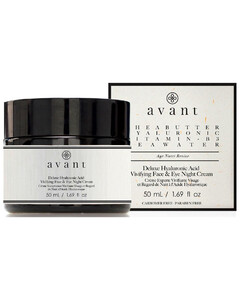 Deluxe Hyaluronic Acid Vivifying Face and Eye Night Cream 50ml