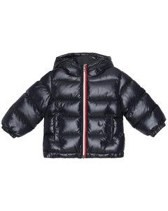 Baby绗缝羽绒大衣