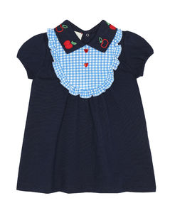 Baby弹力棉质连衣裙