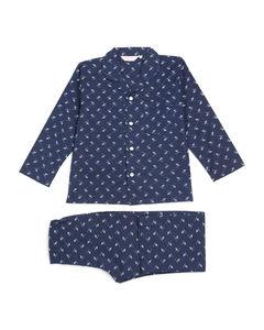 Baby Icon Stripe cotton polo top