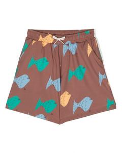 Baby格纹填充连身衣