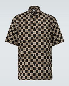 Trulo格纹短袖衬衫