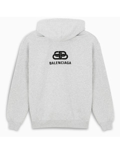 Grey Logo Bb Puff sweatshirt