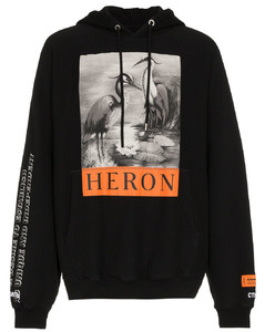 Herons全棉连帽衫