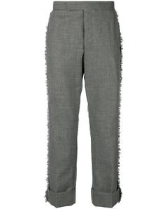 经典磨边长裤
